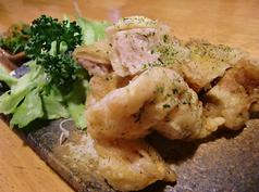 鶏天の特製ねぎ醤油