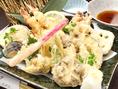 たから丸山人気メニューの天ぷら盛合せ!ぜひご賞味ください★