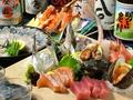 料理メニュー写真季節の鮮魚の刺身盛り