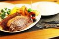 料理メニュー写真国産リブロースプレート