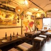 インテリアや照明での演出にもこだわった個室は間接照明の光に照らされたリラックス個室空間です!