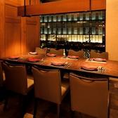 【完全個室完備】個室テーブル席(8名様用) 接待などにはゆったりと6名様でもご利用頂けます♪