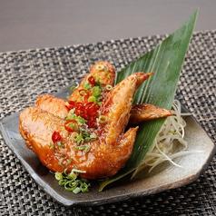料理メニュー写真大山鶏の手羽先~タレor塩~