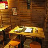 会社帰り・女子会など小人数様に最適の4名様用テーブル。