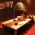 4名掛けのお席もゆったりお食事できるスペースを設けました。
