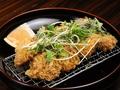 料理メニュー写真葱塩薬味カツ