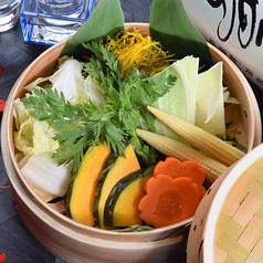 彩り野菜の盛り合わせ