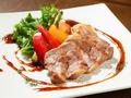 料理メニュー写真熊本県産肥後さかえ豚のロースステーキ