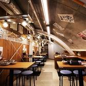 【2号店】コンクリート調の天井に囲まれた新橋らしいお店♪サク飲みにも◎