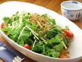 料理メニュー写真水菜と九条葱のサラダ