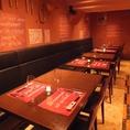 ご友人との飲み会・合コン・街コン・会社宴会・各種二次会など、着席時40名様まで/立食時60名様まで、シーンに合わせてお席をご用意しております。