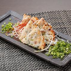 料理メニュー写真葱と海鮮の揚げチヂミ
