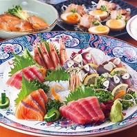 大手町で楽しむ海鮮料理・2時間飲み放題付コース有り