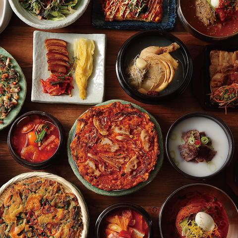 韓国料理 おしゃれな店内で優雅な音楽と共に上品な韓国料理をお楽しみください!