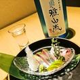 日本酒だけでなく、全国各地から取り寄せる本格焼酎も種類豊富にご用意あり。大人数の飲み会や宴会に最適なボトルはもちろん、グラスでもご用意しておりますので、少人数様~団体様まで幅広い人数でご利用頂けます。更に、全コース+1500円で飲み放題をお付けできます!飲み会や接待に◎