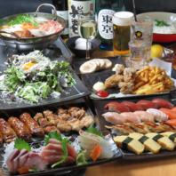 コンセプトは【寿司+炭火焼】!魚好き肉好き集まれッ!