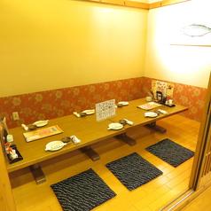 個室席は人気の為ご予約がおすすめです!