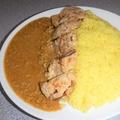 料理メニュー写真リスタ山賊カレー