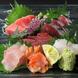 旬の鮮魚を刺身で味わう!日本酒との相性も抜群です☆