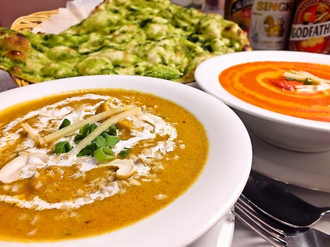 本厚木駅から徒歩5分にある、本格インド料理が味わえるお店☆