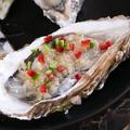 料理メニュー写真焼き活牡蠣(1個)