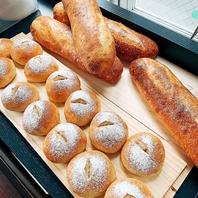 国産の無農薬の小麦を使用した自家製パン
