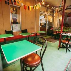 ビニールカーテンで防寒されたテラス席は人気のお席。 【飲み放題/ランチ/歓送迎会/貸切】