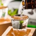 会社宴会や接待などにもご利用可能です。日本酒は常備20種類。有名な日本酒から希少な日本酒まで多数ご用意しております。