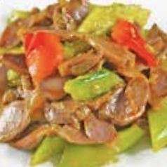 干し豆腐の和え物/牛スジの和え物/砂肝とキュウリ和え※各種の料金です