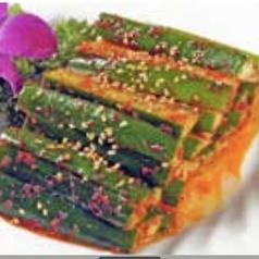 竹の子の醤油和え/四川風胡瓜/自家製魚の香り揚げ※各種の料金です