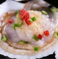 料理メニュー写真ホタテのガーリック(1個)