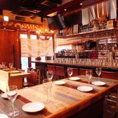 カジュアルイタリアンで飲み会&宴会♪小皿料理やこだわりのお肉料理など。もちろんパスタや石窯で焼き上げる本格ナポリピッツァも◎