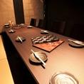 最大10名様までOKのテーブル席個室