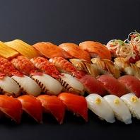 お寿司メニューも食べ放題付きのコースもあり大満足♪