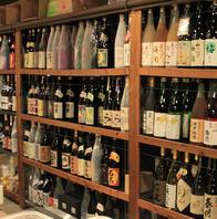 常時100種類以上の焼酎・梅酒を提供しています。