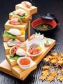 料理メニュー写真名物 海鮮七段飾り