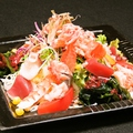 料理メニュー写真和楽のシーフードサラダ
