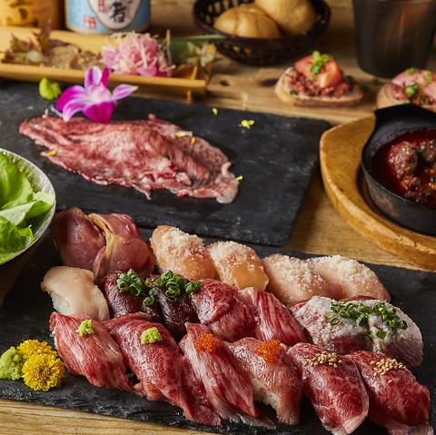 藤沢駅 徒歩1分/しゃぶしゃぶ・肉寿司食べ放題!全70種飲み放題付き