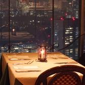 夜はロマンチックな夜景が味わえるので大切な方とのお食事に最適です☆