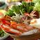 料理メニュー写真蟹(ワタリ)鍋