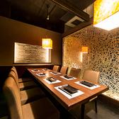 梅田 肉バル梅田店限定!多種多様なテーマの宴会個室空間!デザイナーの遊び心が伝わってきます!ご予約ですぐ埋まってしまう大人気のお席となっております。まずはお気軽に梅田店にお問い合わせください♪梅田店は飲み放題も998円からご用意しておりますので団体様でのパーティーにおすすめ!地酒も旨い!