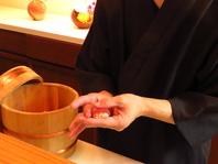 北九州では稀有な江戸前寿司が堪能できます