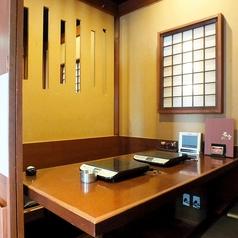 【個室】居心地の良い掘りごたつの完全個室!さまざまな人数に対応♪