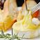 カマンベールチーズの丸焼き~バケット添え~