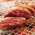 上質な鴨肉を厚切りで堪能できます♪牛角こだわりの鴨肉をアレンジメニューも加えてお届け!詳細はメニューをご確認ください。※鴨肉は合鴨を使用しております