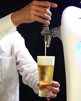 スパークリングW・氷点下ビールも入った充実な飲み放題!