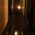【3階】和モダンな店内完全個室が5部屋2名~10名様までOK☆