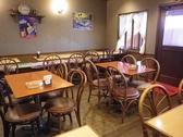 広々とした空間で、ママ会や子供連れでものんびりと食事ができます。