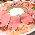 料理メニュー写真肉フォンデュ