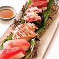 料理メニュー写真寿司盛合せ 匠